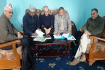 MoU signed with PURPAN University, France and AFU, Nepal