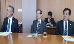 Meeting of Prof. Dhakal with Vice President and Dean of Yamaguchi University, Japan