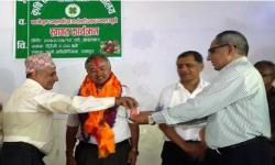 Welcome of new VC at Rampur